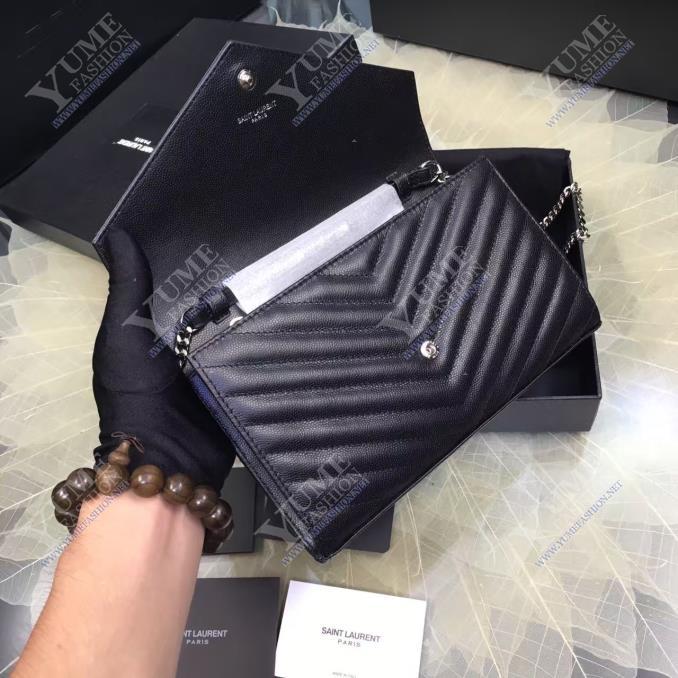 TÚI XÁCH YSLYSL V Line Caviar LeatherTXH2415D|Call