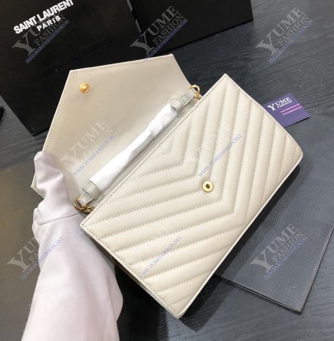 TÚI XÁCH YSLYSL V Line Caviar LeatherTXH2415G|Call