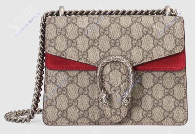 TÚI XÁCH GUCCI Dionysus GG Supreme Authentic Leather TXH2449R | Call