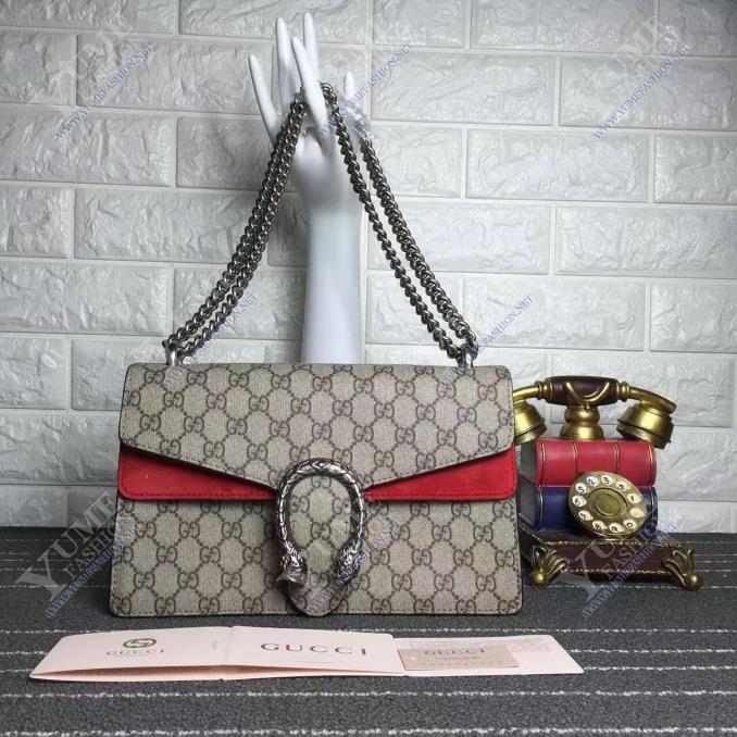 TÚI XÁCH GUCCI Dionysus GG Supreme Authentic Leather TXH2450R | Call